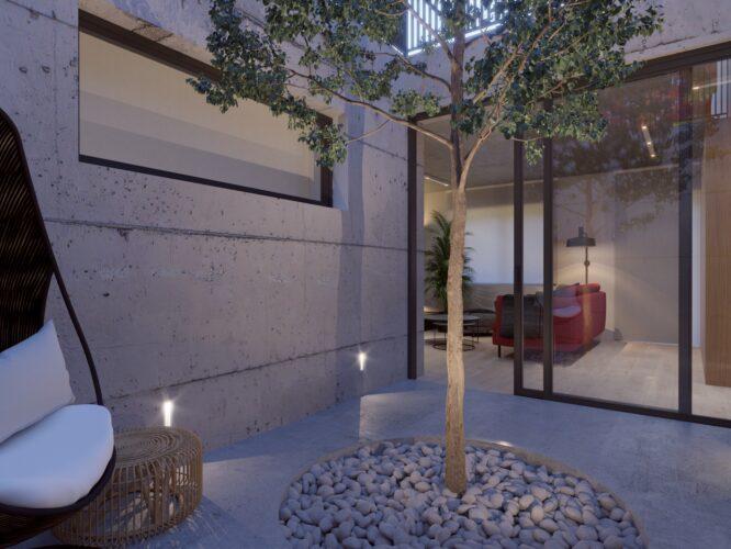 atrium projekt